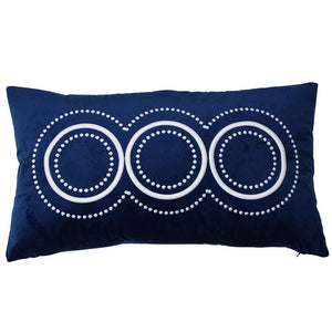 Long Island Navy Cushion Cover