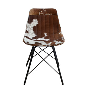 Tulip Cowhide Office Chair