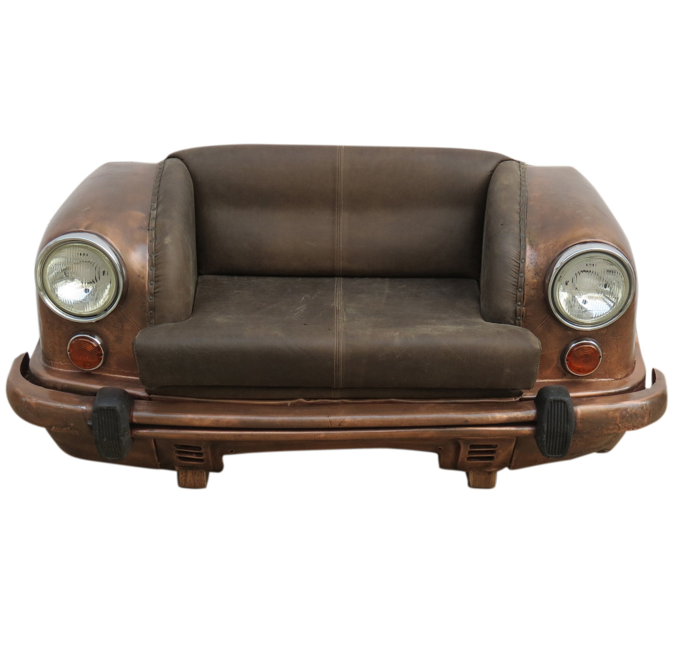 Pleasing Cumbi Antique Copper Car Sofa Leather Gmtry Best Dining Table And Chair Ideas Images Gmtryco