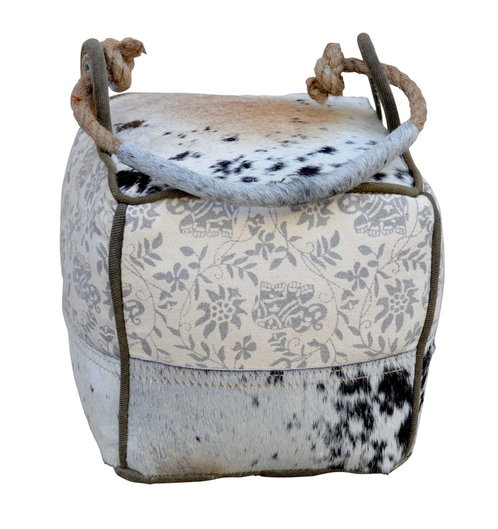 LIGHT COWHIDE DOOR STOOPER