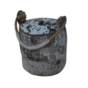 Mojo Cylindrical Cowhide Door Stopper