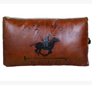 Polo Leather Cushion
