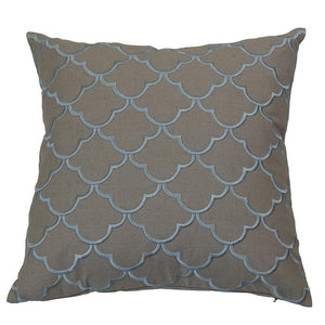 Margaret Sky Blue Cushion Cover
