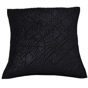 Oasis Black Pillow Cover