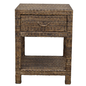 Plantation Rattan Bedside Table