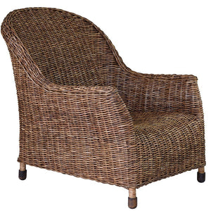 Plantation Rattan Lounge Chair