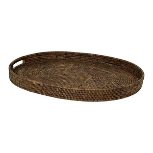 Plantation Rattan Tray Oval Small