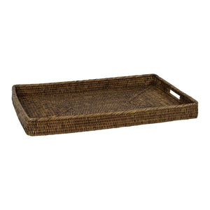 Plantation Rattan Tray Rectangle Small