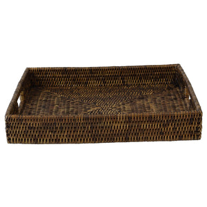 Plantation Rattan Tray Square Small
