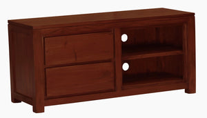 Amsterdam 2 Drawer Entertainment Unit (Mahogany)