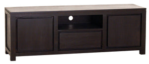 2 Door 1 Drawer Amsterdam Entertainment Unit (Choclate)