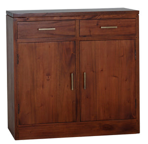 Paris 2 Door 2 Drawer Buffet (Light Pecan)