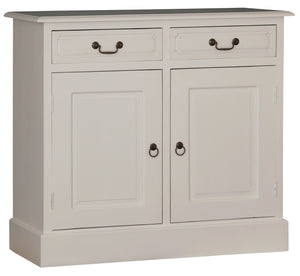 Tasmania 2 Door 2 Drawer Entertainment Unit (White)