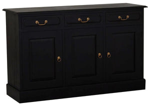 Tasmania 3 Door 3 Drawer Buffet (Chocolate)