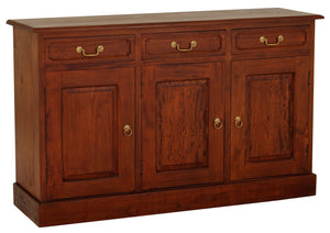 Tasmania 3 Door 3 Drawer Buffet (Light Pecan)