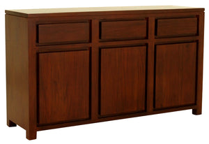 Amsterdam 3 Door 3 Drawer Buffet (Mahogany)