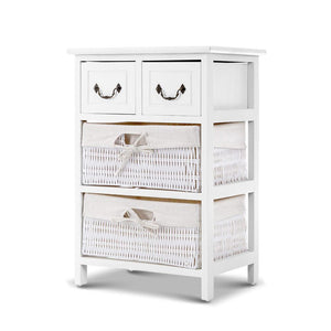 Artiss Storage Cabinet Dresser Chest of Drawers Bedside Table Bathroom Lamp Side