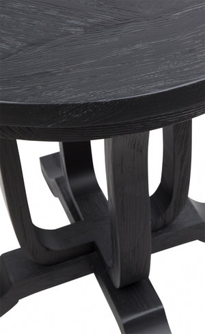 Saddler Side Table - Black