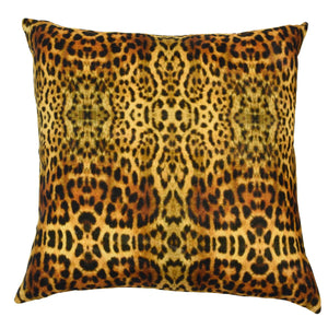 Safari Leopard Cushion Cover