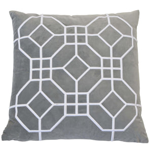 San Diego Silver Cushion Cover