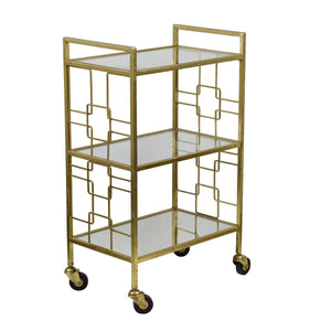 Sandringham Golden Bar Cart