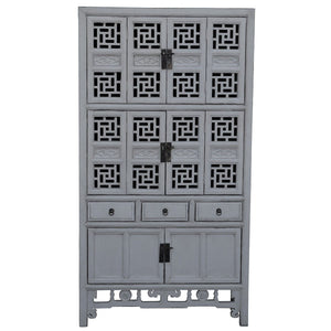 Shanghai Timber Cabinet, Antique White