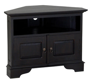 Tasmania 2 Door Corner TV Stand (Chocolate)