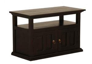 Tasmania 2 Door TV Stand (Chocolate)