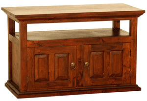 Tasmania 2 Door TV Stand (Light Pecan)
