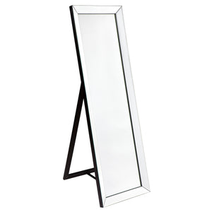 Bronx Cheval Mirror - Black