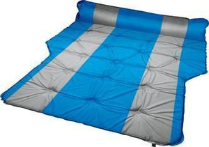 Trailblazer Self-Inflatable Air Mattress With Bolsters and Pillow - LIGHT BLUE