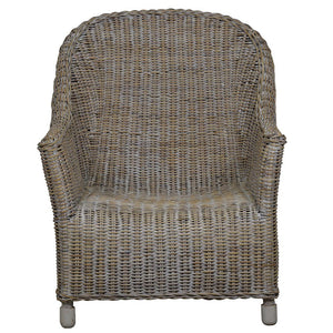 Verandah Rattan Lounge Chair, Natural