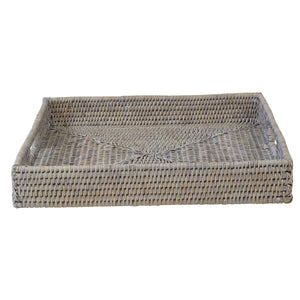 Verandah Rattan Tray Square Small