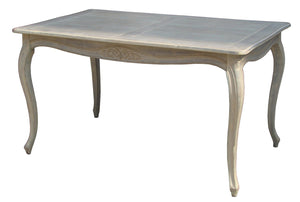 Wash White Louis XV Dinning Table