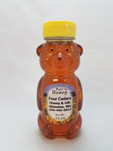 Honey - 12 oz.  Bear