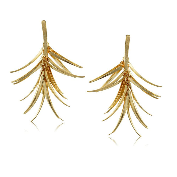10006R 18K Gold Layered  Earring
