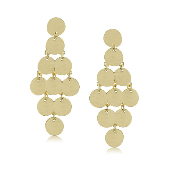 10084R 18K Gold Layered Earring