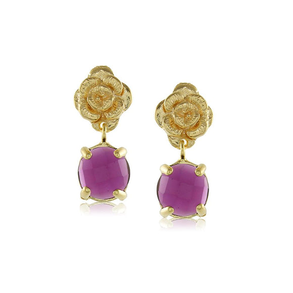 10208R 18K Gold Layered Earring