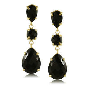 10217R 18K Gold Layered Earring