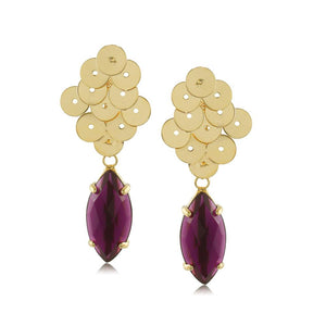 10238R 18K Gold Layered Earring