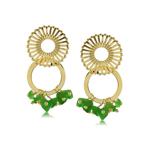 10272R 18K Gold Layered Earring