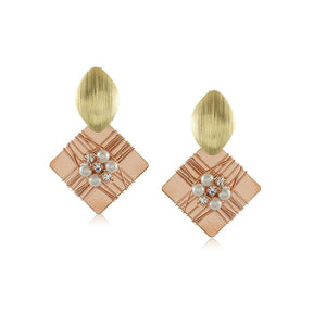 10310R 18K Gold Layered Earring