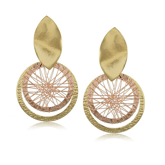 10312R 18K Gold Layered  Earring