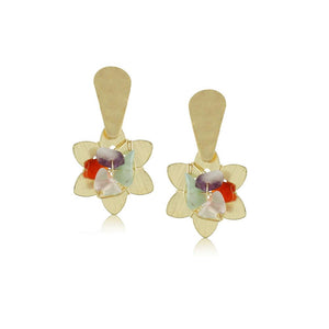 10339R 18K Gold Layered Earring