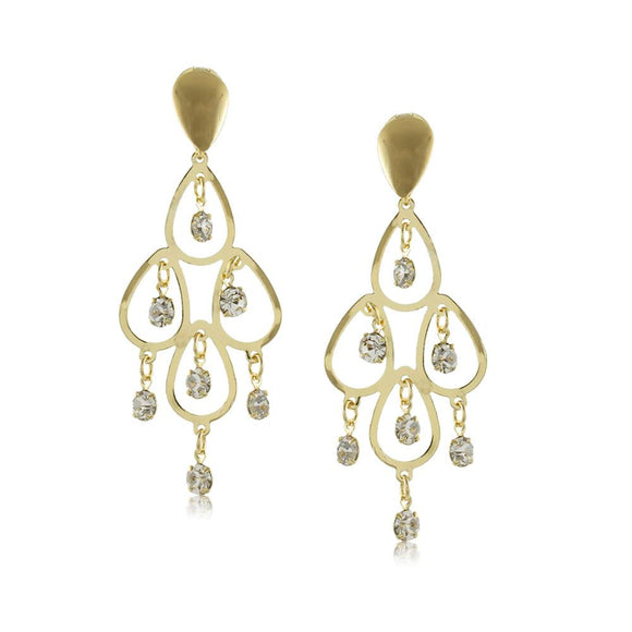 10347R 18K Gold Layered Earring