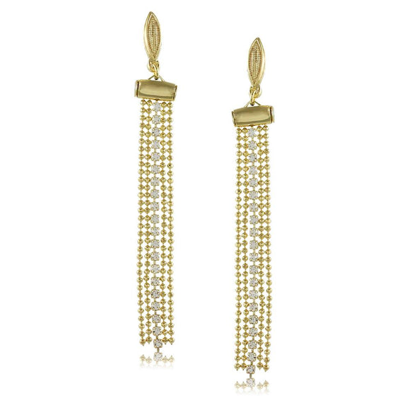 10382R 18K Gold Layered Earring