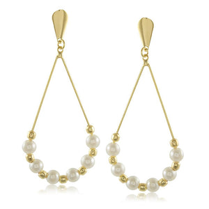 10388R 18K Gold Layered  Earring