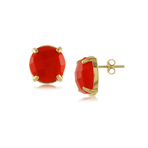 10484R 18K Gold Layered Earring