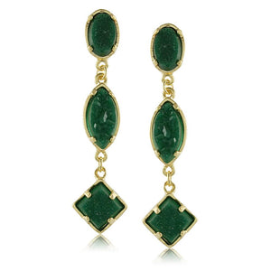 10500R 18K Gold Layered Earring