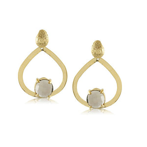 10523R 18K Gold Layered Earring
